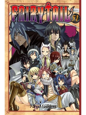cover image of Fairy Tail, Volume 51